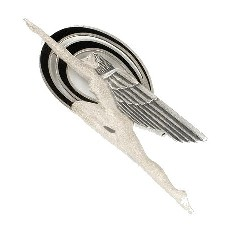 Art Deco Winged Brooch
