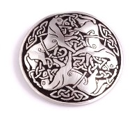 Celtic Inverurie Horse Brooch